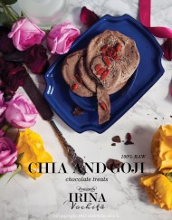 Chia and goji chocolate treats1